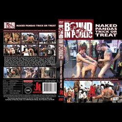 Bound in Public 29 - Naked Pandas Trick or Treat - Just in time for Halloween - KINK-BIP-029
