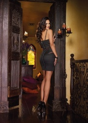 Stretch dress with elastic bandages size Small - DG-8711-S