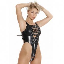 Leder Body Harness - le-5274-blk