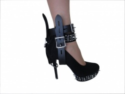 Lockable Leather High-Heel-Fixer - os-0336
