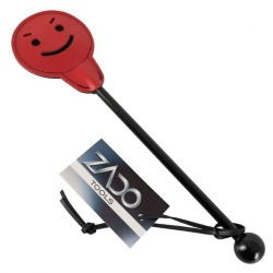 Lederen Paddle Smiley van ZADO - os-20402391000