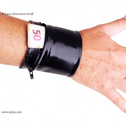 Latex Wrist Wallet by Latexa - la-3148