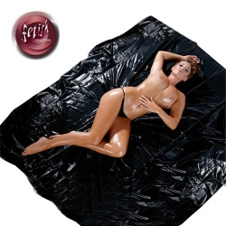 Zwart Lak Laken van Fetish Collection  - or-28600661001