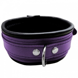 Saxos Narrow Purple/Black Collar - os-0100-1p