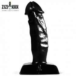 Black Koichi - de stijve geaderde penis van ZIZI - zizi-zzt31bk
