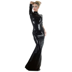 Latex Jurk maten S > XXL - or-2900092