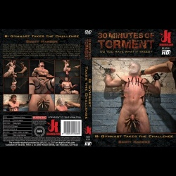 30 Minutes of Torment 19 - Bi Gymnast Takes the Challenge - kink-tmt-019