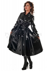 PVC Skirted coat size Medium - pul-ra59
