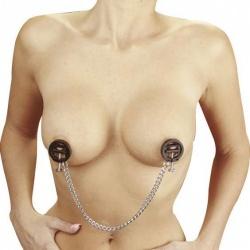 Verstellbare Kunststoff Hoffmann Brustklammern mit Kette von Rimba - ri-7703