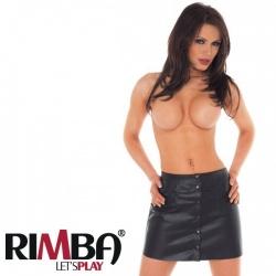 Mini skirt with press stud front EU 36 > EU44 - ri-7171