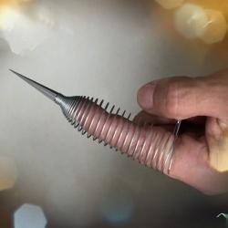 Stalen vingersleeve (per stuk) - bhs-261
