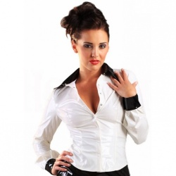 Vinyl Miss Education Shirt  by Honour Clothing  - hr-h2125