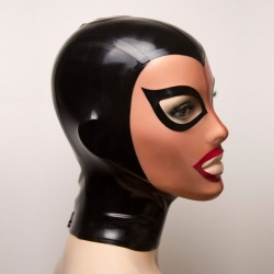 Feitico Latex Maske 'Aphrodite' - ft-01-01