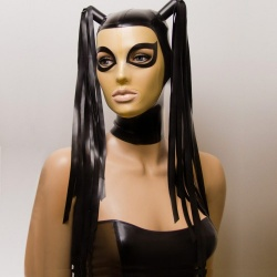 Feitico Latex Maske 'Harmonia' - ft-01-15