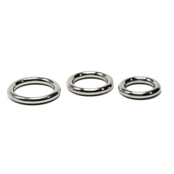 Ronde cockring 10mm diameter Masters in Steel - mis-crr10