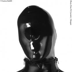 Latexa Masker met Rits - la-1109-z