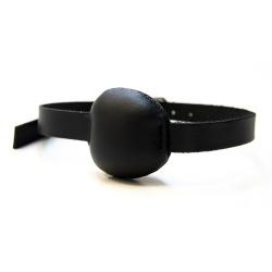 Saxos Leather Ballgag - os-mi069