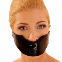Latex Masker met gag by Anita Berg  AB4330 - ab4330