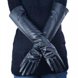 Imitatie Lederen Lange Handschoenen - mae-cl-002