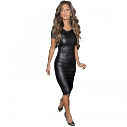 Black Bandage Midi Dress - mae-cl-021