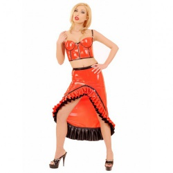 Latex Flamenco Skirt by Anita Berg - ab4273