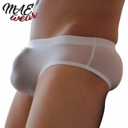 Sexy Men Ice Silk Underwear Transparent Briefs - mae-cl-079