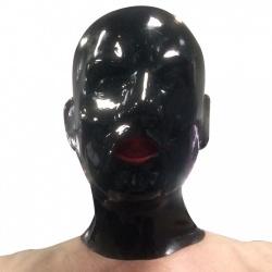1.5mm latex hood with mouth sheath tongue - mae-sm-107