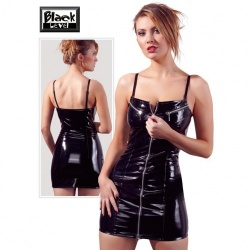 Vinyl Dress with Zip - or-2850320