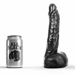 All Black Dildo 22cm - 115-ab11