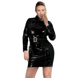 Kleid aus Lack, mit Gürtel großen XL > XXXXL - or-2851148