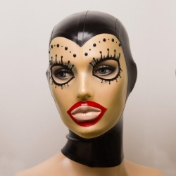 Feitico Latex Maske 'Damia' - ft-01-13
