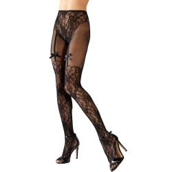 Cottelli Collection Net Tights - or-2510294