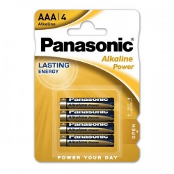Panasonic AAA Alkaline batteries (4 pack) - pan-aaa