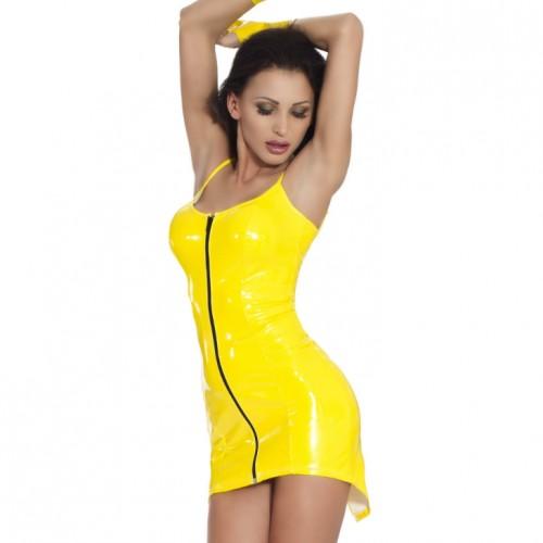Datex Kleid Schulterfrei von Insistline - le-9214