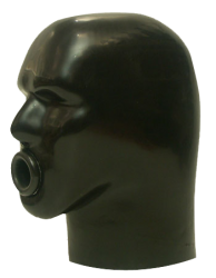 Zware Rubber Latex Helm M4C-z - sg-m4c-z