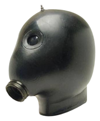 Opblaasbaar rubber masker KMB - sg-kmb