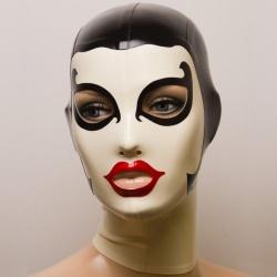 Feitico Latex Masker 'Athene' - ft-01-12