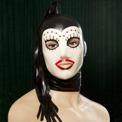 Feitico Latex Maske 'Ares' - ft-02-05