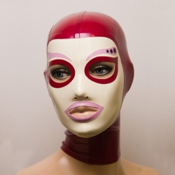 Feitico Latex Maske 'Eos' - ft-01-22