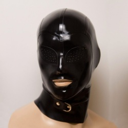 Feitico Latex Maske 'Erebos'  - ft-02-09