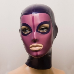 Feitico Latex Maske 'Gaia' - ft-01-21