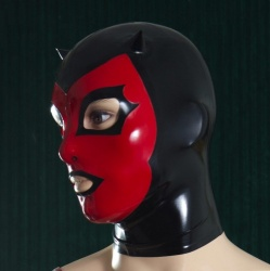 Feitico Latex Maske 'Hades' - ft-02-02