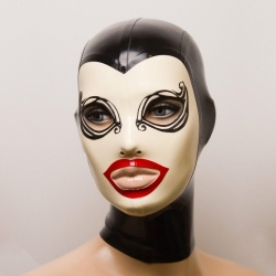 Feitico Latex Maske 'Melantho' - ft-01-09