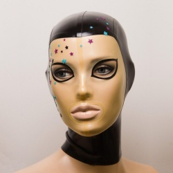 Latex Maske 'Phoibe'  - ft-01-08