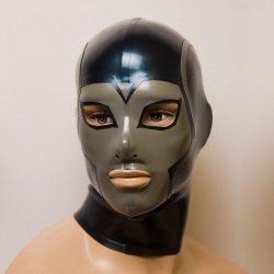 Latex Maske 'Uranos' - ft-02-07