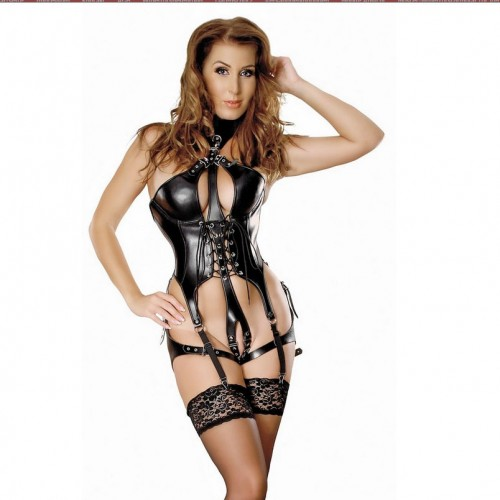 Leather body harness by Ledapol 5288