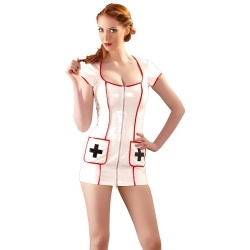 Vinyl Dress Nurse by Black Level  - or-2850907