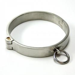 RVS Afsluitbare Halsband (Dames Versie) van MAE-Toys - mae-sm-067f