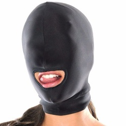 Spandex Hood with Mouth Opening by MAE-Toys - mae-sm-168m