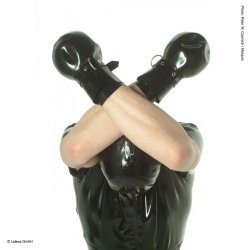 Latex Fausthandschuhe - la-1237
